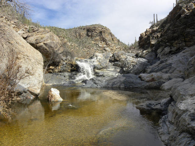 My Wisconsin Space 187 Waterfall In Tanque Verde Canyon