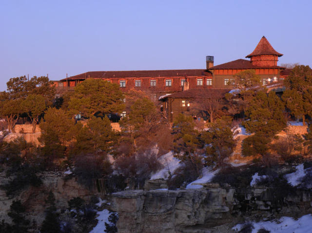 My wisconsin space el tovar lodge grand canyon national for El tovar grand canyon