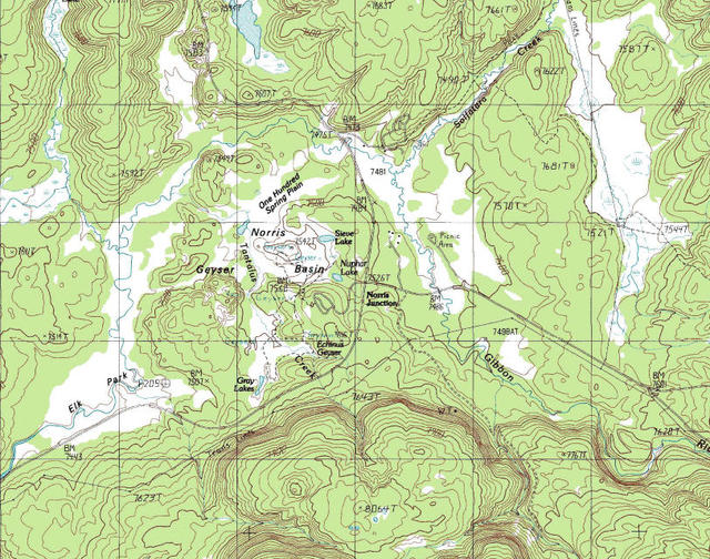 My Wisconsin Space » Topographic Map of Norris Geyser Basin ... on black hills sd topographic map, mount marcy topographic map, blue ridge parkway topographic map, lamar ranger station yellowstone map, united states topographic map, uinta mountains topographic map, mosquito lake topographic map, el capitan topographic map, firehole river topographic map, west yellowstone topographic map, seattle topographic map, rock river topographic map, wind river range topographic map, willamette river topographic map, montana topographic map, black hills national forest topographic map, mount baker topographic map, boise topographic map, front range topographic map, redwood national park topographic map,