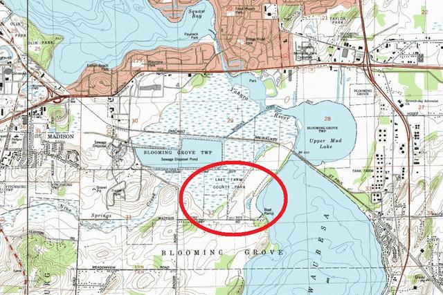 My Wisconsin Space » Topographic Map of Capital Springs State ...
