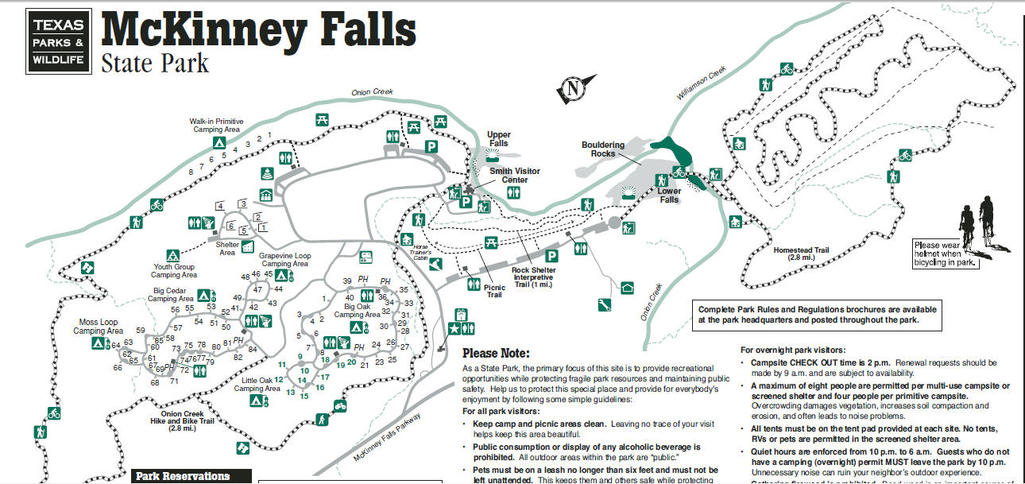 Mckinney Falls State Park Map My Wisconsin Space » Search Results » McKinney Falls