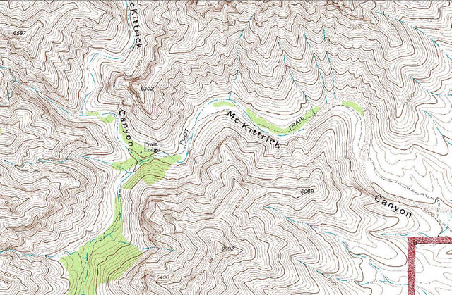 My Wisconsin Space Topographic Map Of McKittrick Canyon - Topographical map of texas