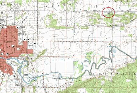 My Wisconsin Space Topographic Map Of Man Mound County Park