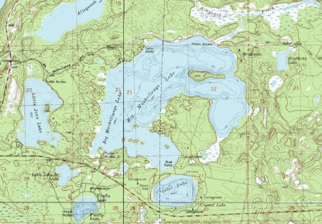 My Wisconsin Space State Forest Map - Map of northern wisconsin lakes