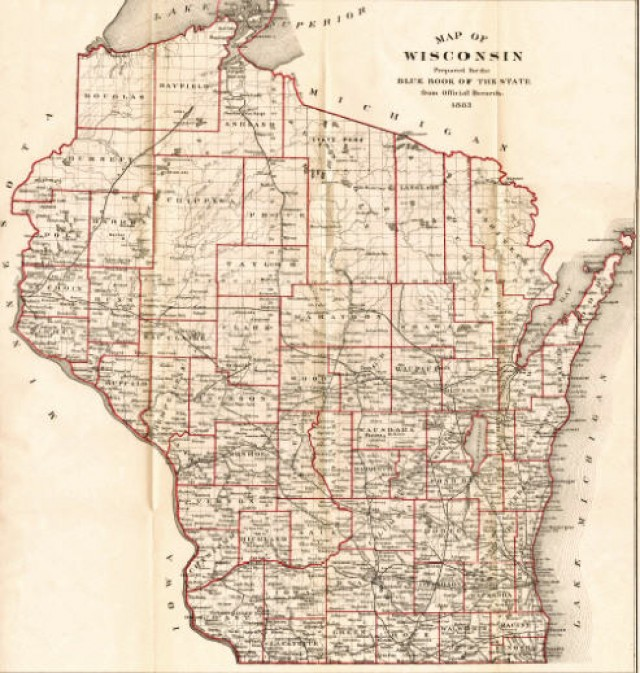 My Wisconsin Space Map Of Wisconsin - Map of wisc