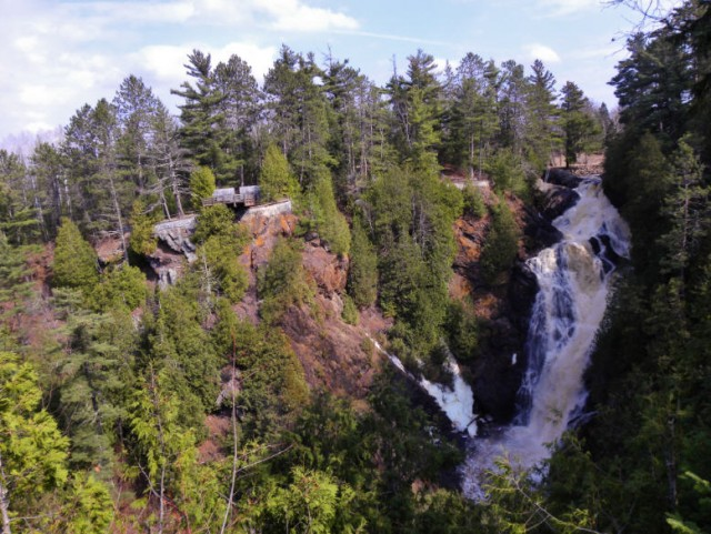My Wisconsin Space » Black River Nemadji: Pattison State Park Map At Usa Maps
