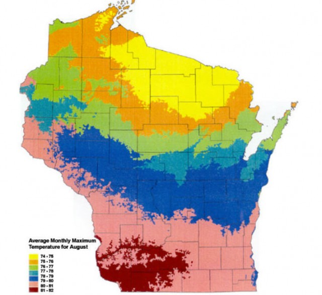 My Wisconsin Space Wisconsin Thematic Map