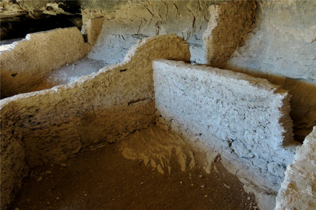 Rooms Built in a Cave, Gila Cliff Dwellings National Monument - Silver City, NM