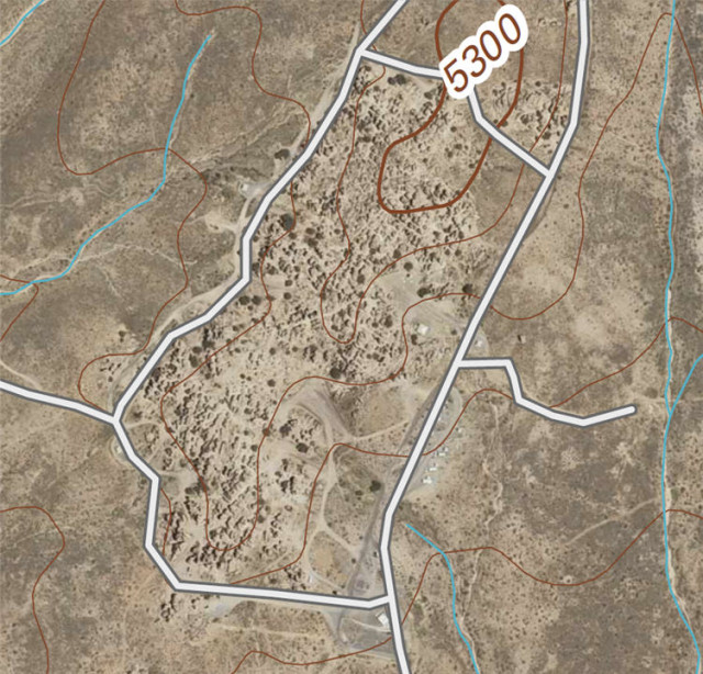 Orthoimage Map of City of Rocks State Park - Faywood, New Mexico