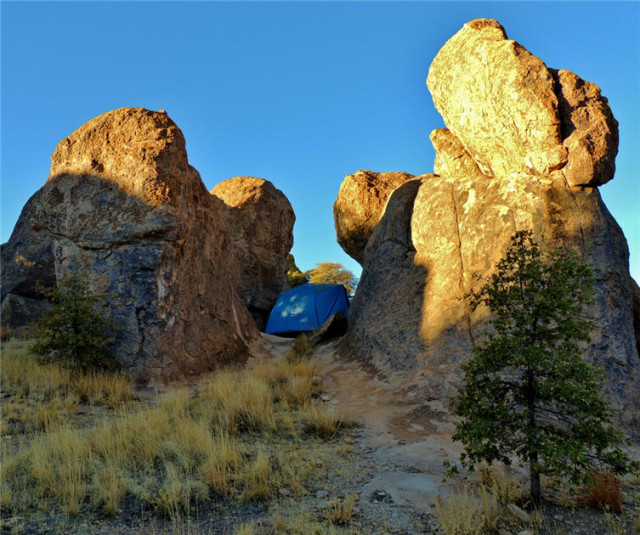 Auriga Campsite (35), City of Rocks State Park - Faywood, NM