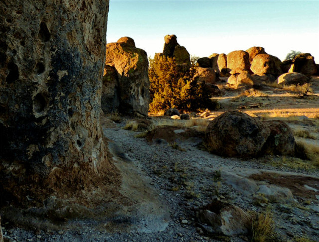 Shadows Among the Rocks, City of Rocks State Park - Faywood, New Mexico